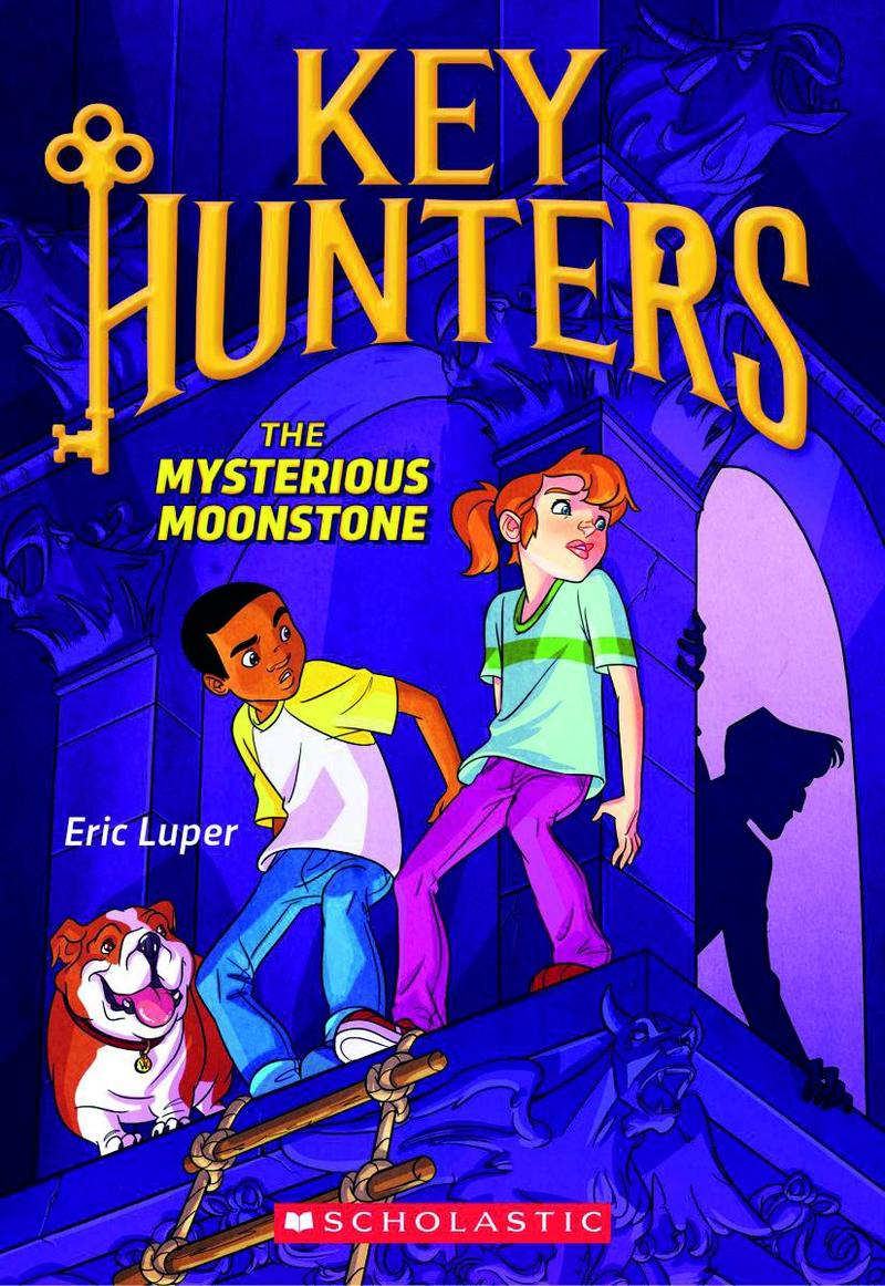 Book Cover - Key Hunters - The Mysterious Moonstone