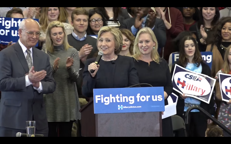 Hillary Clinton in Cohoes
