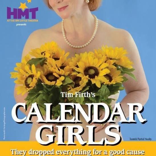 Poster art for Calendar Girls at HMT