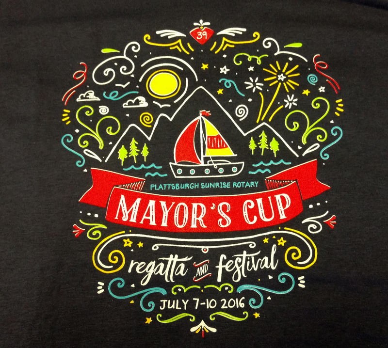 Mayor's Cup logo on tee-shirt