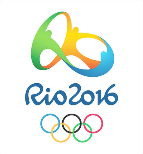 The 2016 Summer Olympics logo