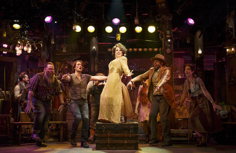 Roundabout Theatre Company's The Robber Bridegroom - Leslie Kritzer, center