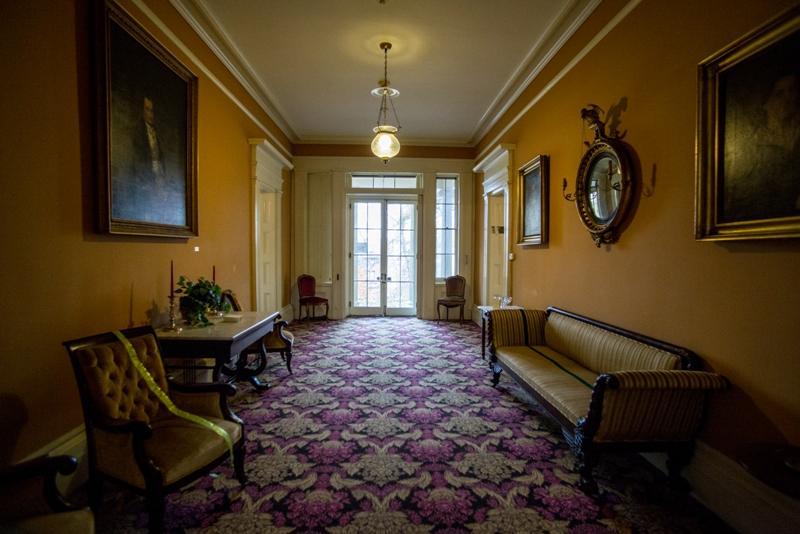 Hallway in Ten Broeck Mansion
