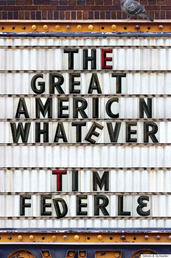 Book Cover - The Great American Whatever