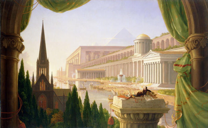 Thomas Cole, The Architect's Dream, 1840