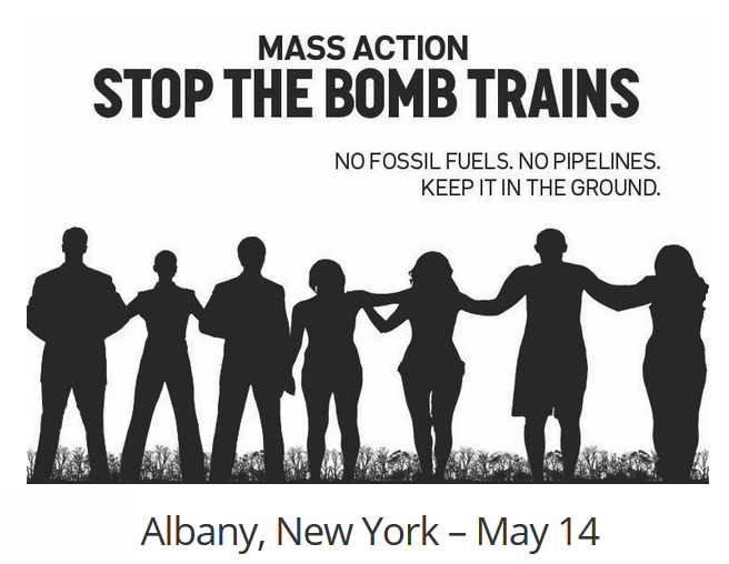 This act of mass civil disobedience against oil trains will also stand against fracked gas pipelines (including NED, AIM and Constitution), and other fossil fuel projects, like the Pilgrim Pipeline.