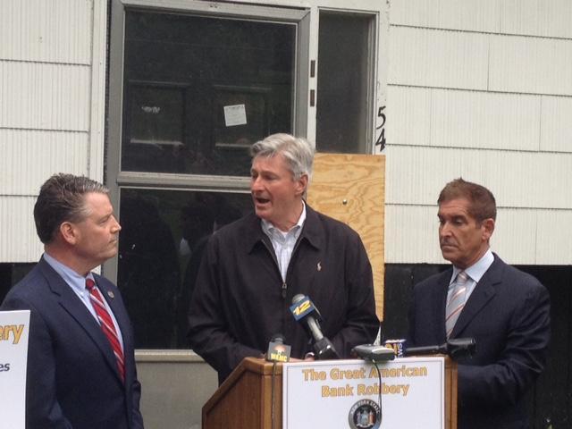 NYS Senator Murphy, Carmel Town Supervisor Kenneth Schmitt, NYS Senator Klein