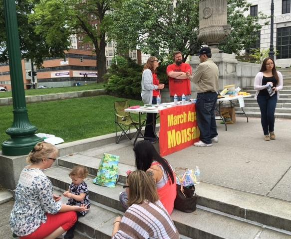 March Against Monsanto in Albany, NY calls attention to GMOs