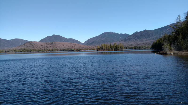 Adirondacks Elk Lake Dix Mountain