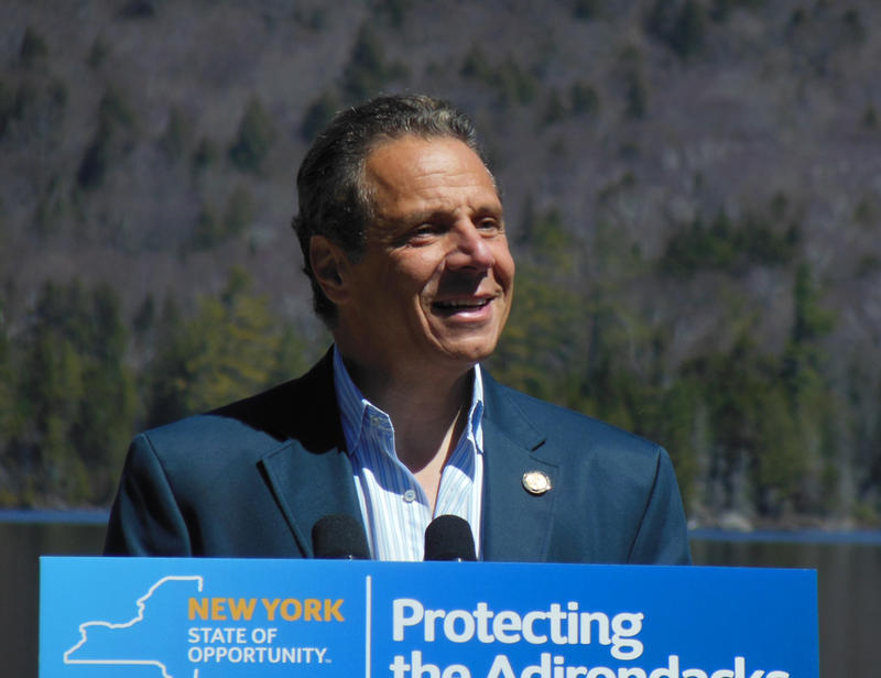 Governor Andrew Cuomo at Elk Lake