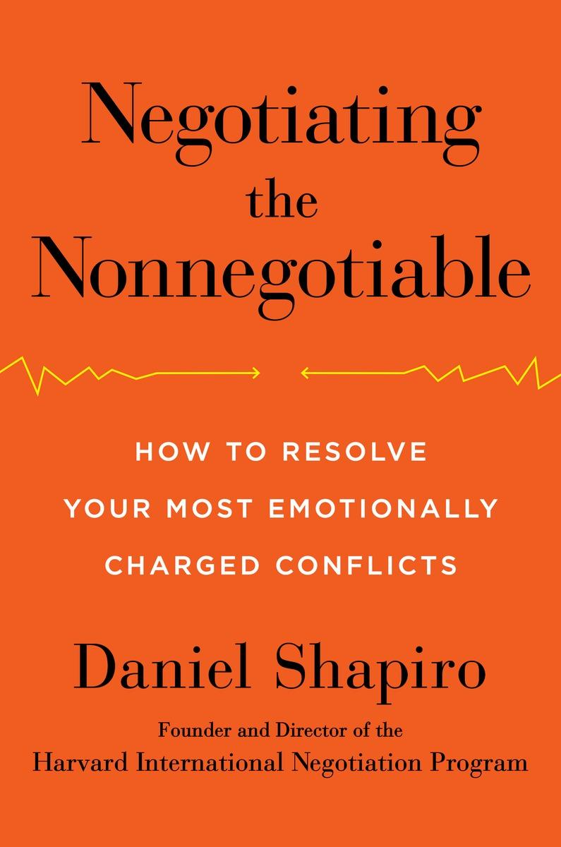 Book Cover - Negotiating the Nonnegotiable