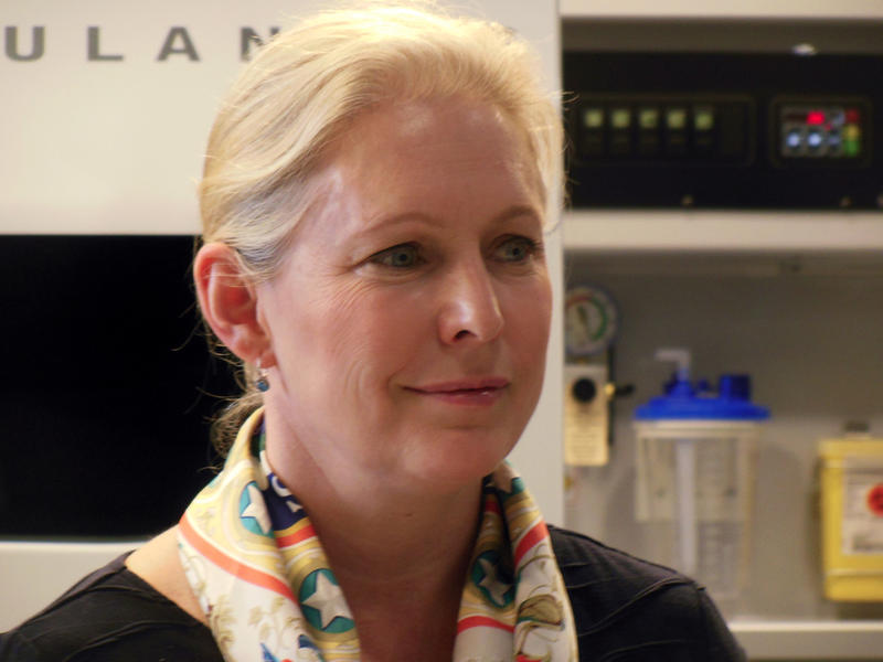 Senator Kirsten Gillibrand at Demers Ambulances
