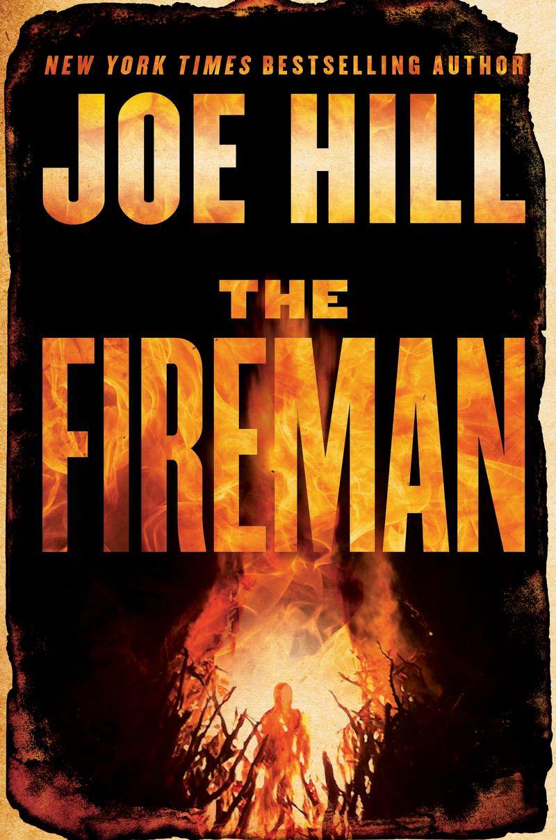 Book Cover - The Fireman