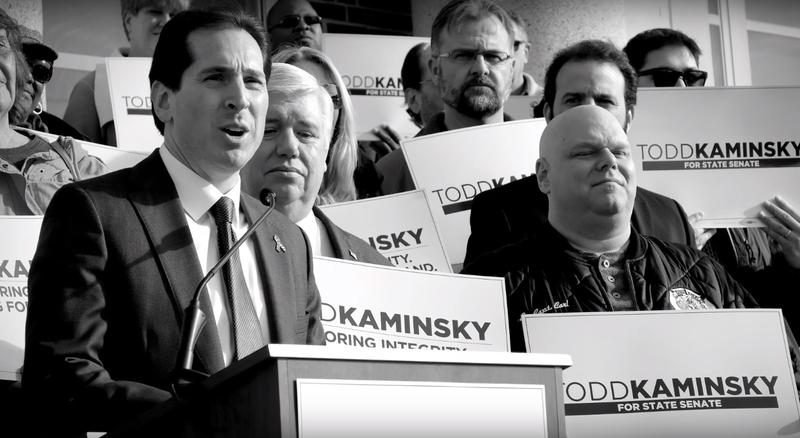 State Senator Todd Kaminsky