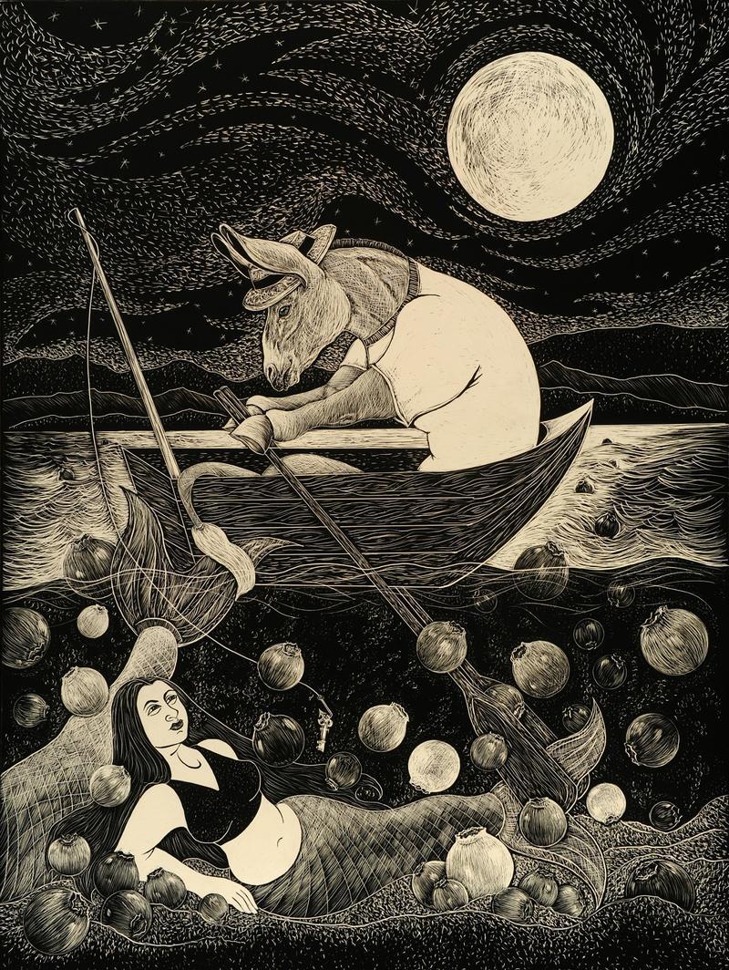 """Trawling for Mermaids"" by Karen Gaudette"