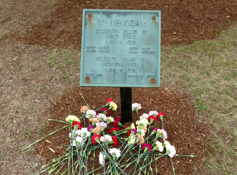 Kent State-Jackson State memorial at SUNY Plattsburgh