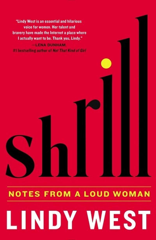 Book Cover - Shrill