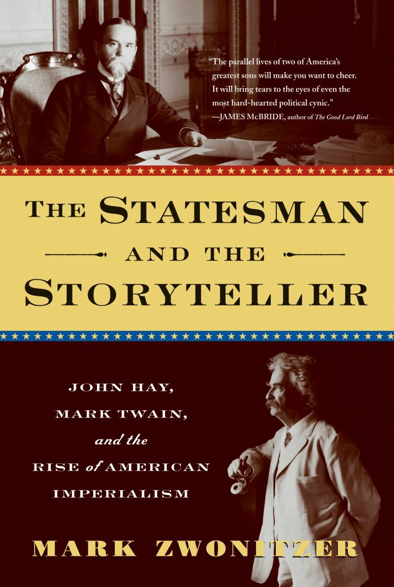 Book Cover - The Statesman and the Storyteller