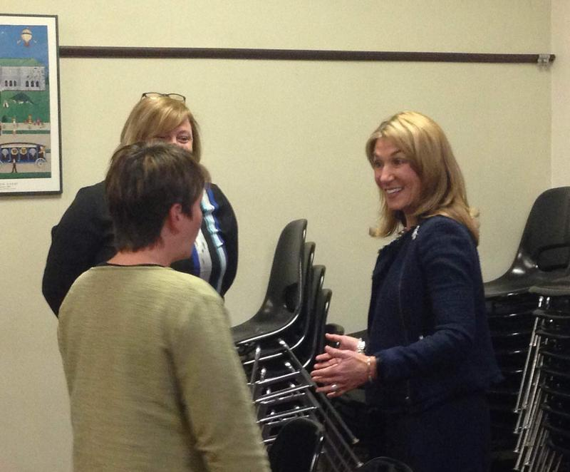Massachusetts Lieutenant Governor Karyn Polito was in Pittsfield Tuesday.