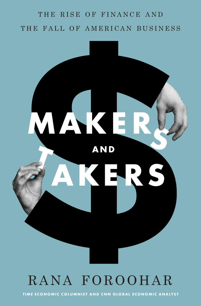 Book Cover - Makers and Takers
