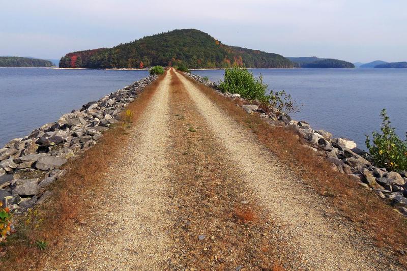 Mount Zion Island in the Quabbin Reservoir