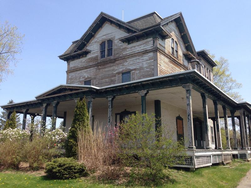The Springside House in Pittsfield, Massachusetts.