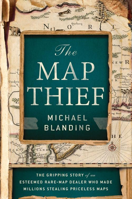 The cover of The Map Thief book