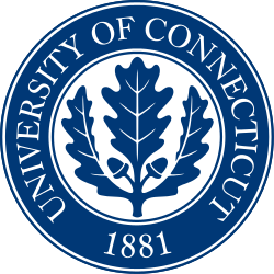 This is a picture of the logo of the University of Connecticut