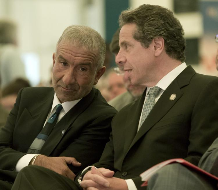 Alain Kaloyeros and Governor Cuomo