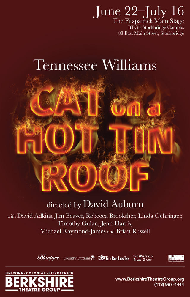 Artwork for Cat on a Hot Tin Roof at BTG
