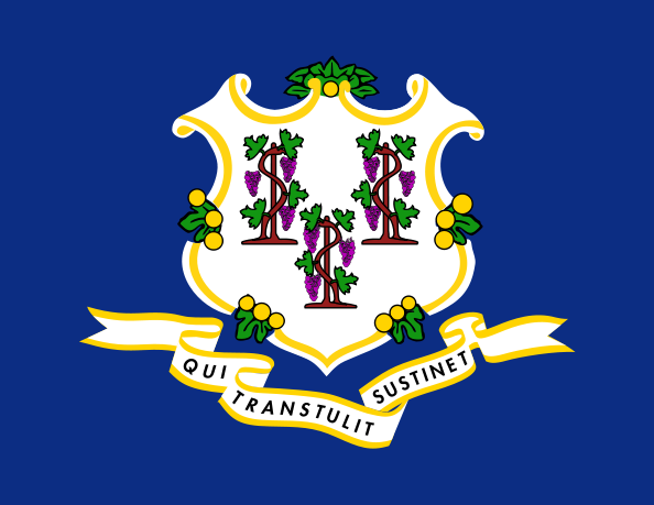 Connecticut's state flag