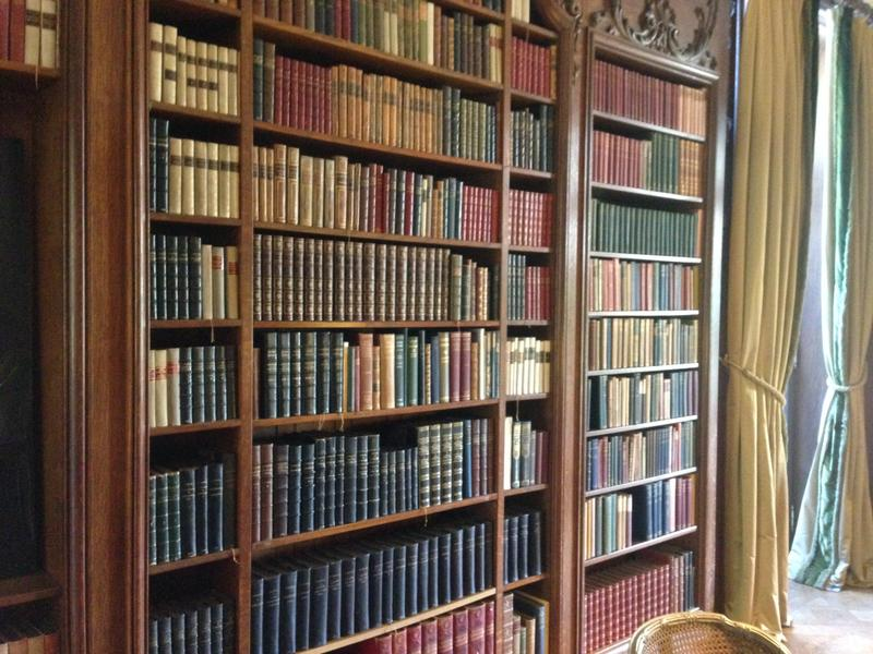 Some of Wharton's are on display at The Mount's library.