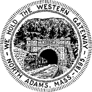 The seal of the the city of North Adams, Massachusetts