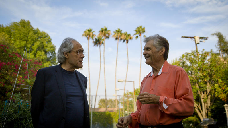 "Robert Klein with Fred Willard in ""Robert Klein Still Can't Stop His Leg"""