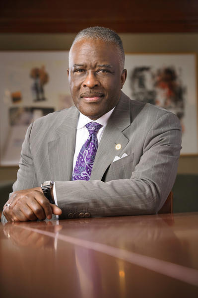 University at Albany President Robert Jones