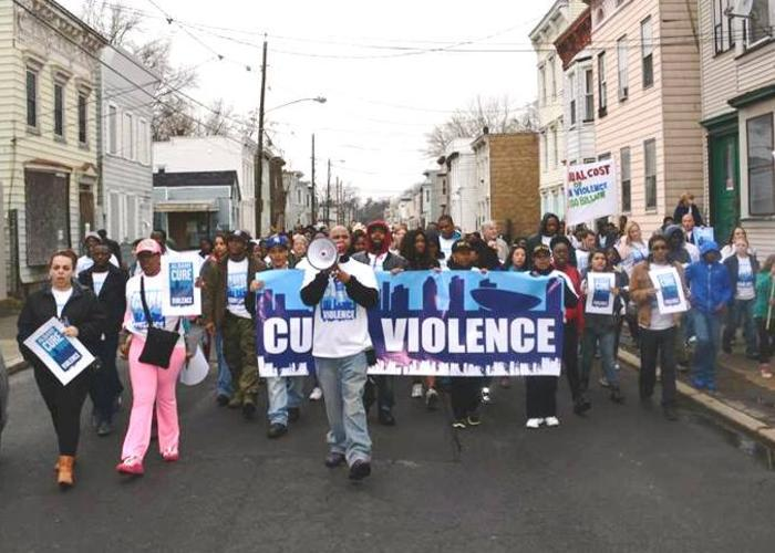 (April 2014) Nearly 300 people rallied in Albany's Washington Park Saturday, at the culmination of