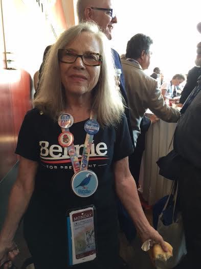 Bernie Sanders delegate at 2016 DNC