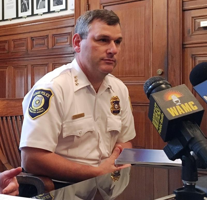 Albany Police Chief Brendan Cox