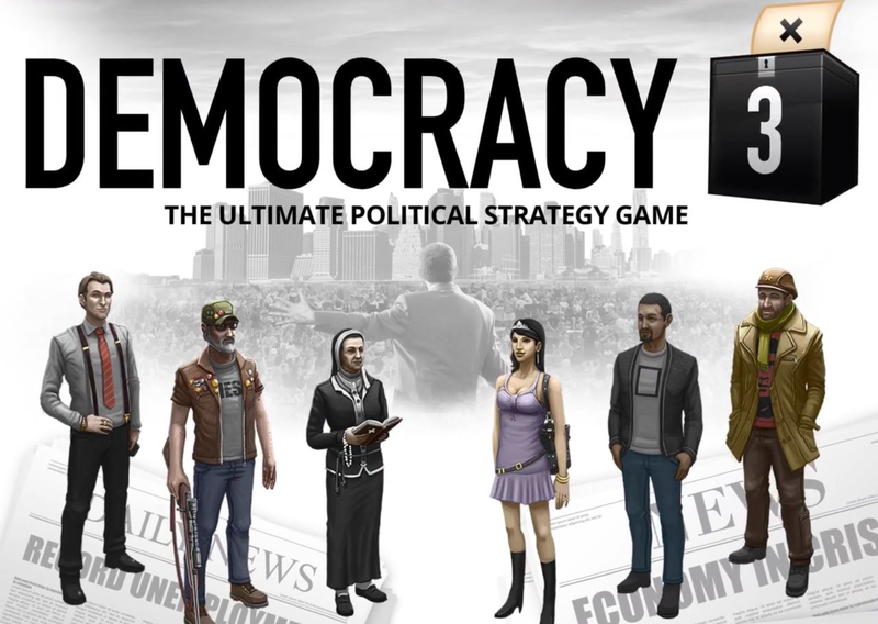 Democracy 3 logo