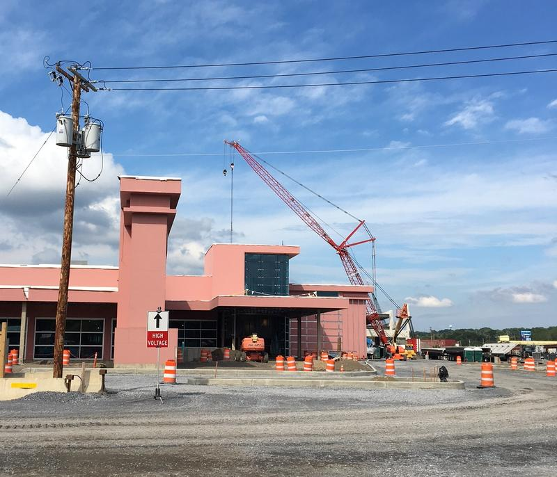 The Rivers Casino is coming together, ahead of schedule.