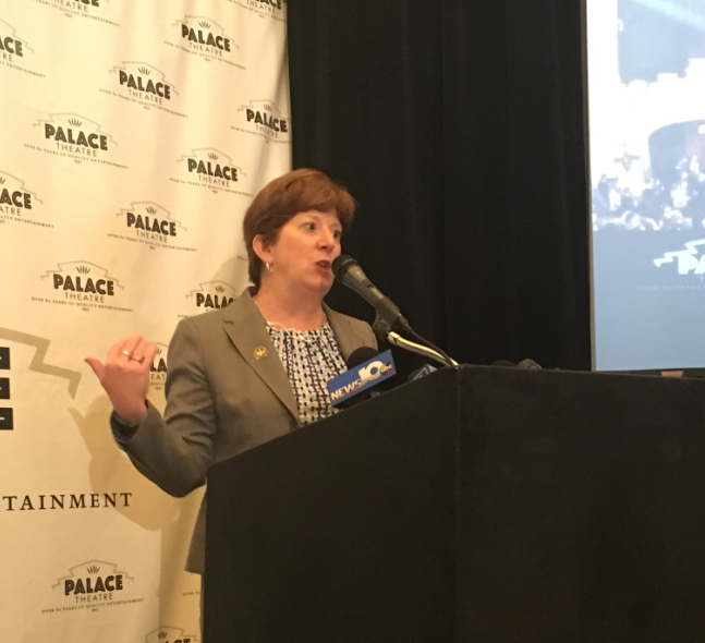 Albany Mayor Kathy Sheehan says the plans are a demonstration of the growth the Palace is experiencing.