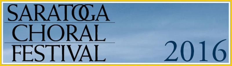Saratoga Choral Festival logo