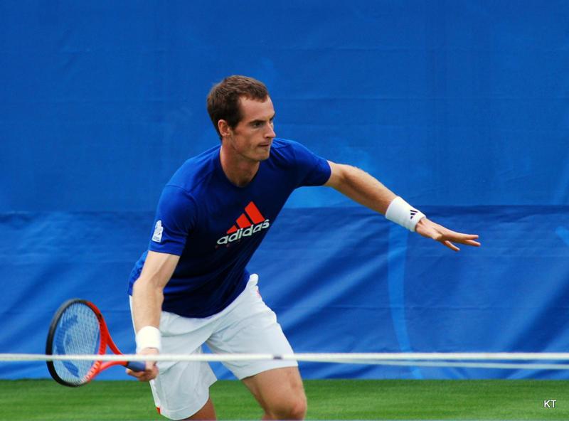 Tennis star and 2016 Wimbledon Chamipon Andy Murray