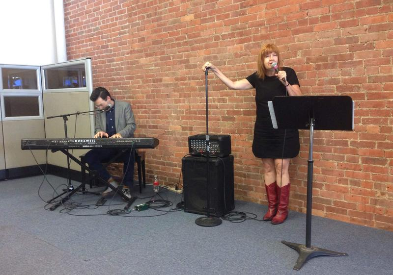 Annie Golden of Broadway Bounty Hunter performs at Barrington Stage Company's new headquarters.