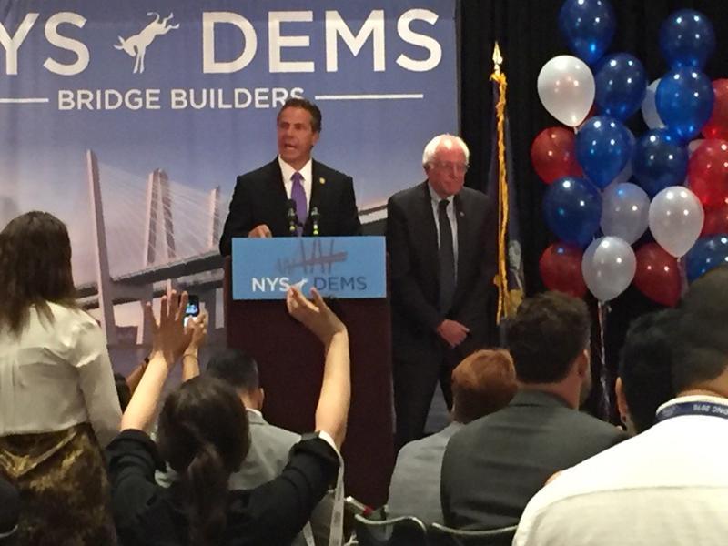 Gov. Cuomo and Senator Sanders