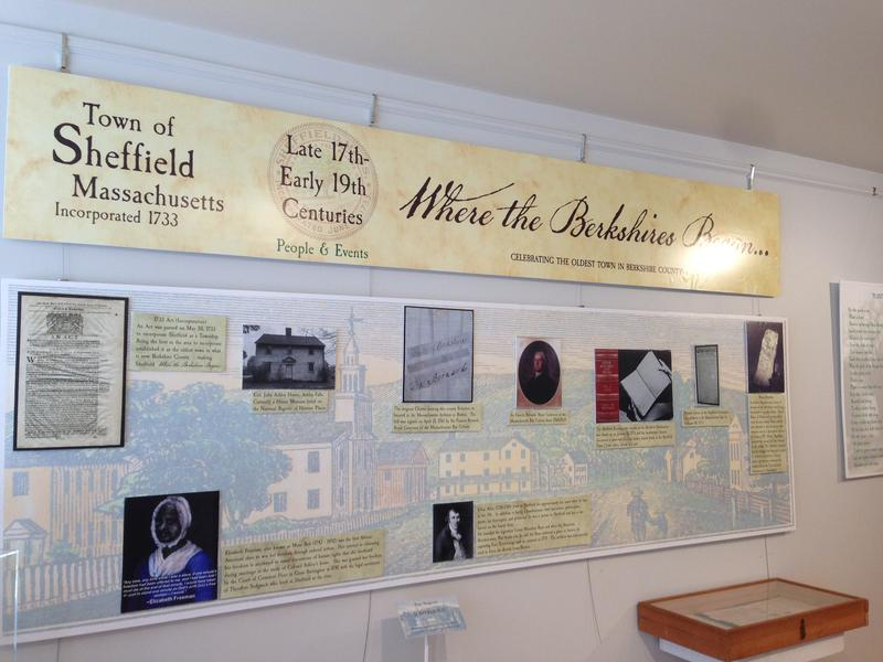 The weekend exhibit runs until September 4 at the Old Stone Store on Main Street in Sheffield, Massachusetts.