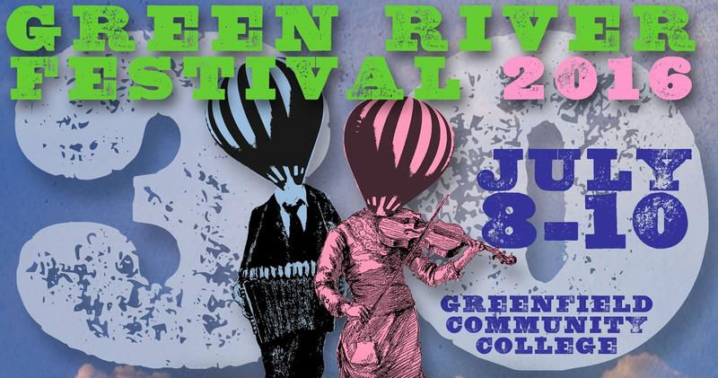 Artwork for 2016 Green River Festival