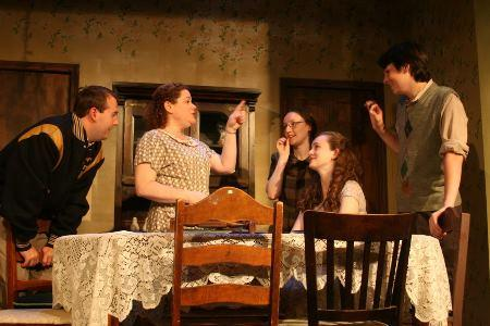 A scene from Brighton Beach Memoirs at Curtain Call Theatre