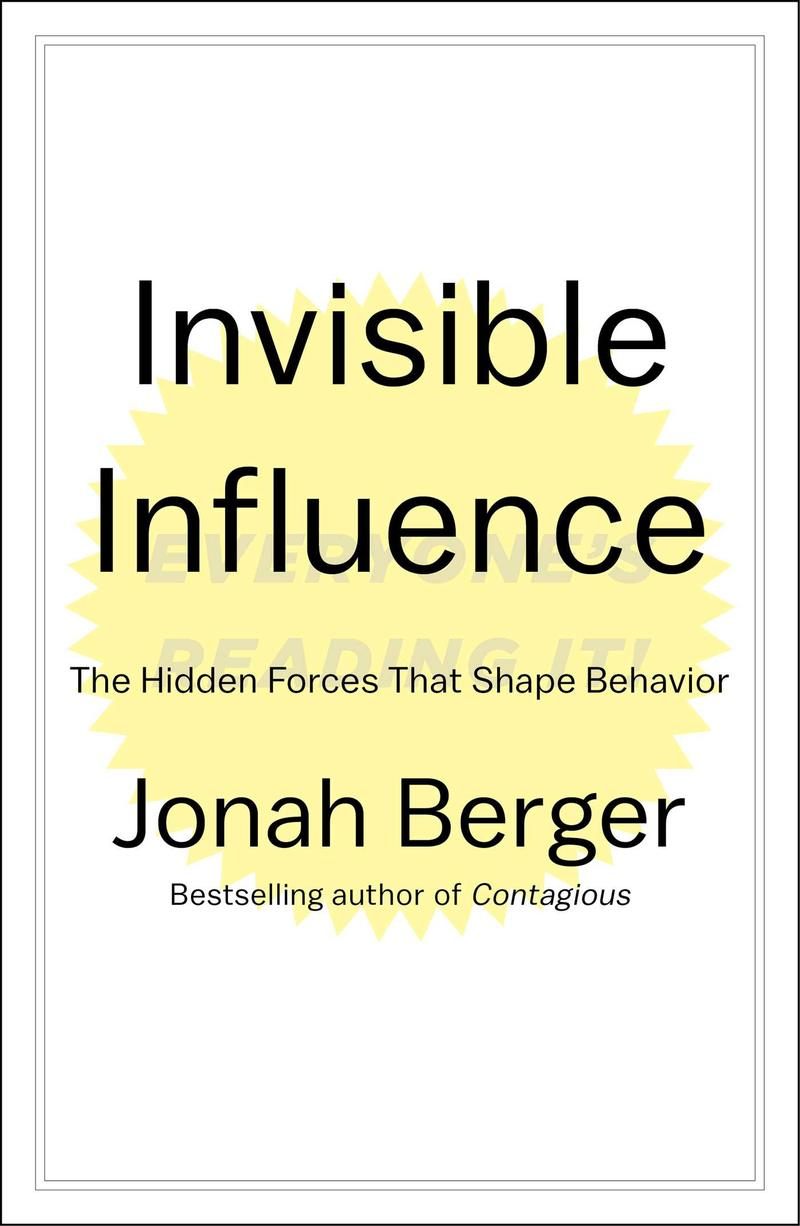 Book Cover - Invisible Influence