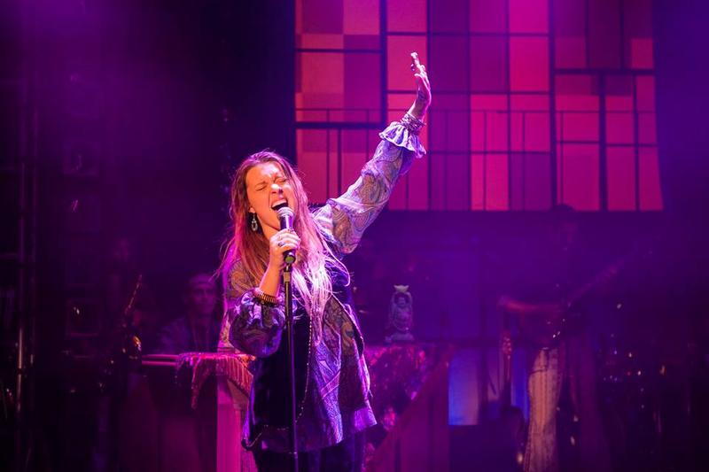 Kelly McIntyre as Janis Joplin at TheRep in Albany, NY